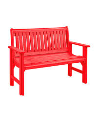 cr plastic products b01 garden bench