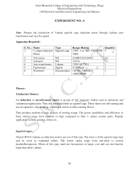 electrical and electronics lab manual 16