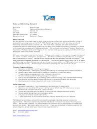 Marketing Assistant Job Description For Resume Marketing Assistant Resume Example EssayMafia 16