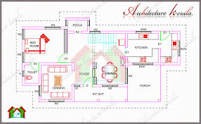 1700 square feet house plan with pooja room