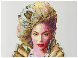 Queen Bey Beyonce Portrait Painting by Atlanta Artist Charlie Ha ...