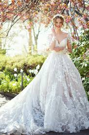 embroidered wedding dress. Romantic Long Sleeve Off the shoulder Lace Beaded And Embroidered