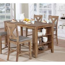 Furniture Of America Ferndale Rustic Counter Height Kitchen Island