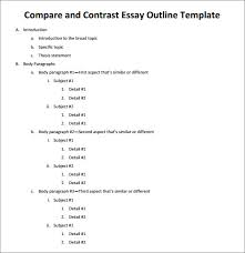 comparison essay thesis examples co comparison essay thesis examples