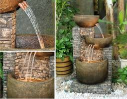 wall water features outdoor