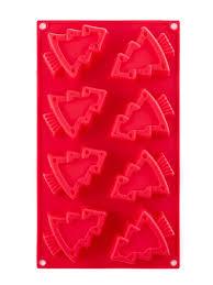 <b>Форма для выпечки</b> Winter 29.3x17x3см, красная, на 8 кексов ...