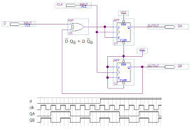 Asm Chart For 2 Bit Up Down Counter Synchronous Counter Design Online Digital Electronics Course