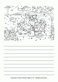mother s day story paper family picnic story paper