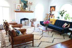how to place a rug under a sectional sofa what rug size furniture s