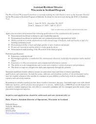 resident advisor resume images resident assistant resume  resident