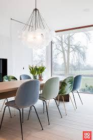 Tafel Met Stoelen Met Lamp Eetkamer Design Dining Room Dining