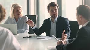 Businessman In Suit Talking To Stock Footage Video 100 Royalty Free 1028099081 Shutterstock