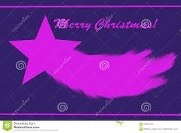 Rosafarbener Weihnachtsstern Stockfoto Illustration Von