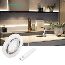 closet lighting battery. DVOLADOR 4 AAA Battery Powered LED Strip 2835 Lights Flexible Motion Sensor Closet Light For Cabinet/bedroom/Stairs(not Battery)-in Strips From Lighting R