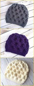 Free Crochet Ponytail Hat Pattern Beauteous Cable Beanie Hat Free Crochet Pattern Crochet Pinterest Free
