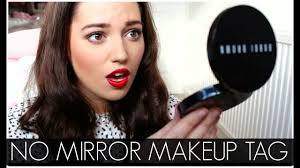 no mirror makeup challenge velvetgh0st you