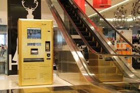 Vending Machines Dubai Unique Dubai Galeries Lafayette The Dubai Mall GOLD To Go™ Der Erste