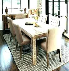 size of area rug under dining table dining room area rugs size area rug dining room