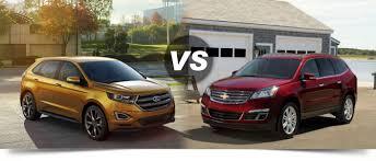 2015 Ford Edge vs 2015 Chevy Traverse