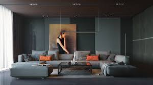 interior design living room ideas most inspiring layout gray fabric sofa  rectangle glass coffee table brown
