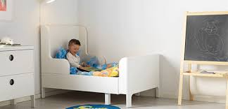 kids bed. BUSUNGE Bed Is Extendable, So It Can Be Pulled Out As Your Child Grows Kids