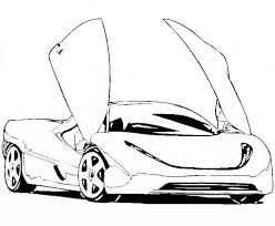 Small Picture Free Printable Race Car Coloring Pages For Kids for Free Car