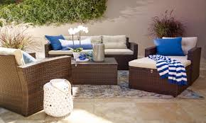 small space outdoor furniture. furniture for small spaces patio set with blue pillows space outdoor