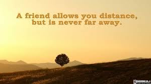 Quotes On Friendship And Distance
