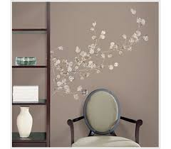 product reviews on peel and stick wall art for dorms with silver dollar branch peel n stick dorm decor college wall
