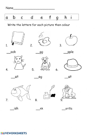 A collection of english esl worksheets for home learning, online practice, distance learning and english classes to teach about phonics, phonics. Abc And Phonics Worksheet
