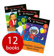 Ladybird <b>I'm Ready for Phonics</b> Collection - 12 Books | Book People