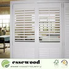 window treatments plantation vinyl shutters for sliding glass doors