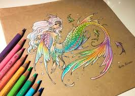 1180x840 alvia alcedo rainbow mermaid it 39s my first time to draw a