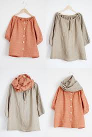 Monday Outfit: Mini Me Style - linen tunics for adult and child with  coordinating linen