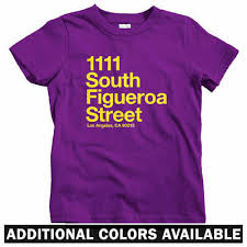 Los Angeles Apparel Size Chart Los Angeles Basketball Stadium Kids T Shirt Baby Toddler Youth Tee Lakers Ca Ebay