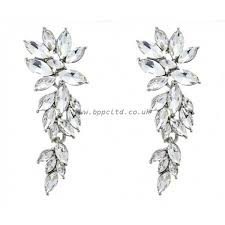 colette by colette hayman women s fashion earrings diamante chandelier earring fu9304