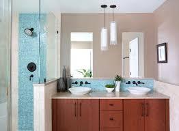 Blue Tiled Bathrooms 9 Bathrooms That Make Tile Look Trendy Huffpost