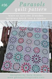 Circle Quilt Patterns Best Dresden Fan Plate Quilt Pattern Geta's Quilting Studio