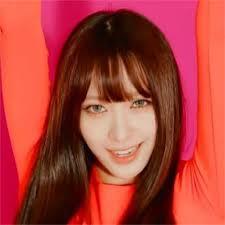 韓国人風ヘアハニちゃん風の前髪とゆる巻きで本当にかわいい髪型