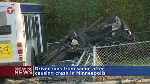 Light Rail Minneapolis Accident Crash Involving Metro Transit Bus Speeding Driver Leaves 1 Critically Hurt