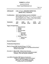 Welder Job Description For Resume