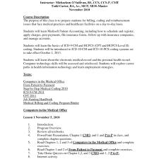Templates Medical Billing Clerk Sample Jobcription Cover Letter