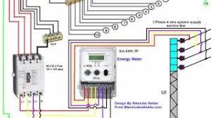 3 phase manual changeover switch wiring diagram generator transfer 3 phase wiring installation in house 3 phase distribution board diagram urdu hindi