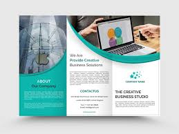 Company Brochure Example Business Tri Fold Brochure Example By Jagul Patel On Dribbble