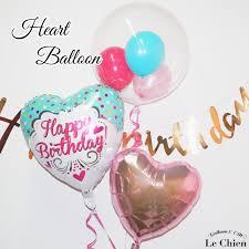 Choose Birthday Balloon Balloons 3 Piece Set Balloon Birthday Gift Birthday Birthday Gift Party Heart Baby Wedding Memorial Day Balloon Gift