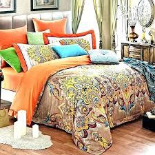 orange and blue comforter orange and blue bedding sets tan bedding set sets blue and full orange and blue