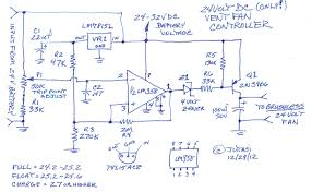 24 volt battery vent fan controller cinci home solar high current battery charger circuit diagrams at 24 Volt Battery Charger Diagram