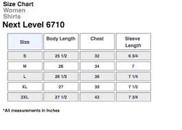 Next Level 6010 Size Chart Campfire Shirt