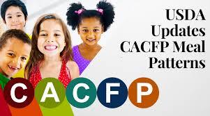 Cacfp Meal Pattern Impressive USDA Updates CACFP Meal Patterns Healthe Pro