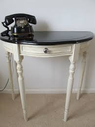 retro hall table. Upcycled Console Table Retro Hall L
